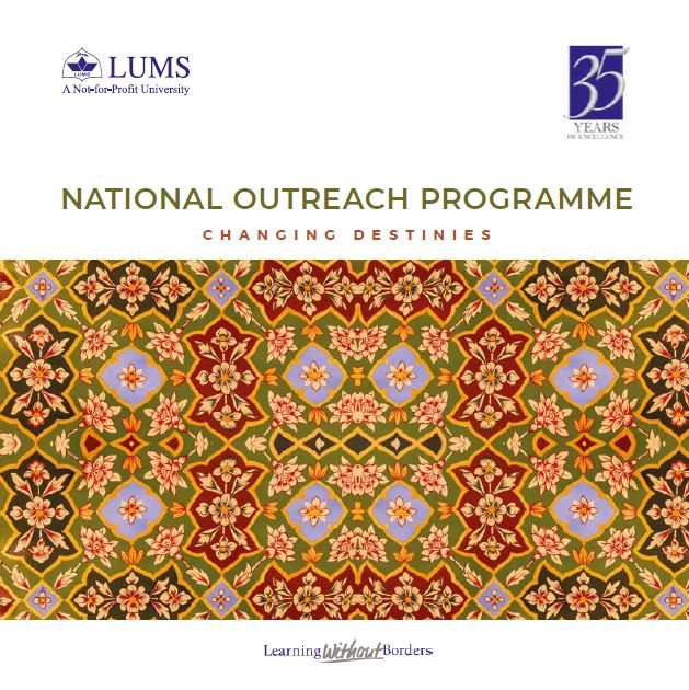 National Outreach Programme - Changing Destinies 2021-22