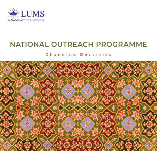 National Outreach Programme - Changing Destinies