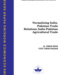 Normalizing Pak-India Trade