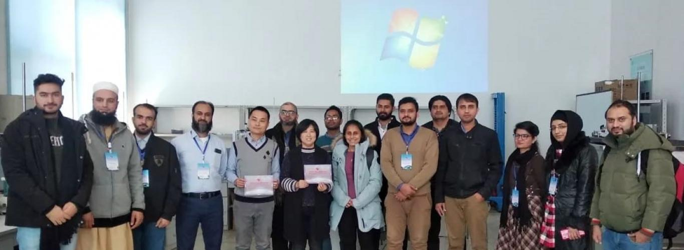 WIT researcher attends underwater acoustic technology workshop China