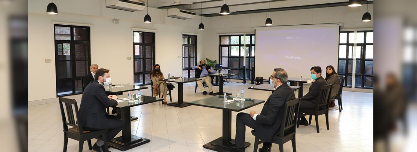 FCDO Team Visits LUMS