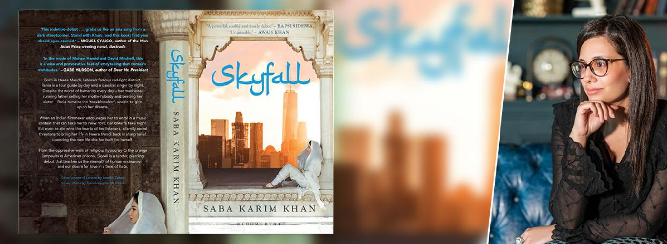 We had a candid conversation with LUMS BSc 2006 graduate, Saba Karim Khan about her debut novel, Skyfall.