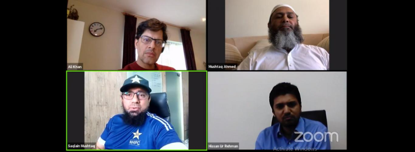 One of the most popular sessions at Homecoming 2021 was a live discussion on cricket with world-famous stars of the game, Mushtaq Ahmed and Saqlain Mushtaq.